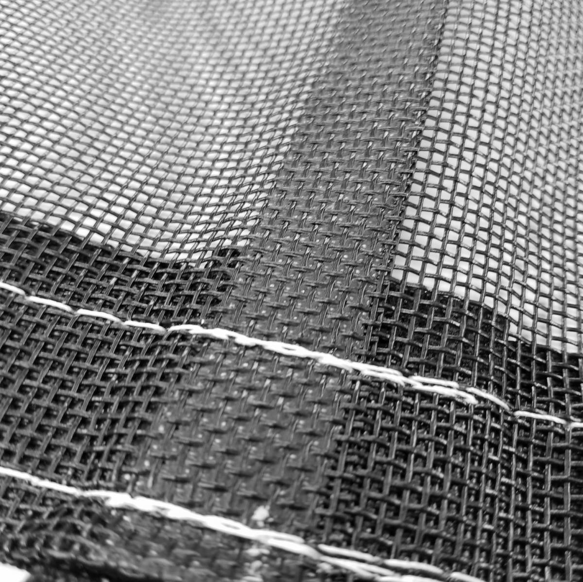 11oz Open Mesh Cable Tarp For Open Top Trailers Hauling