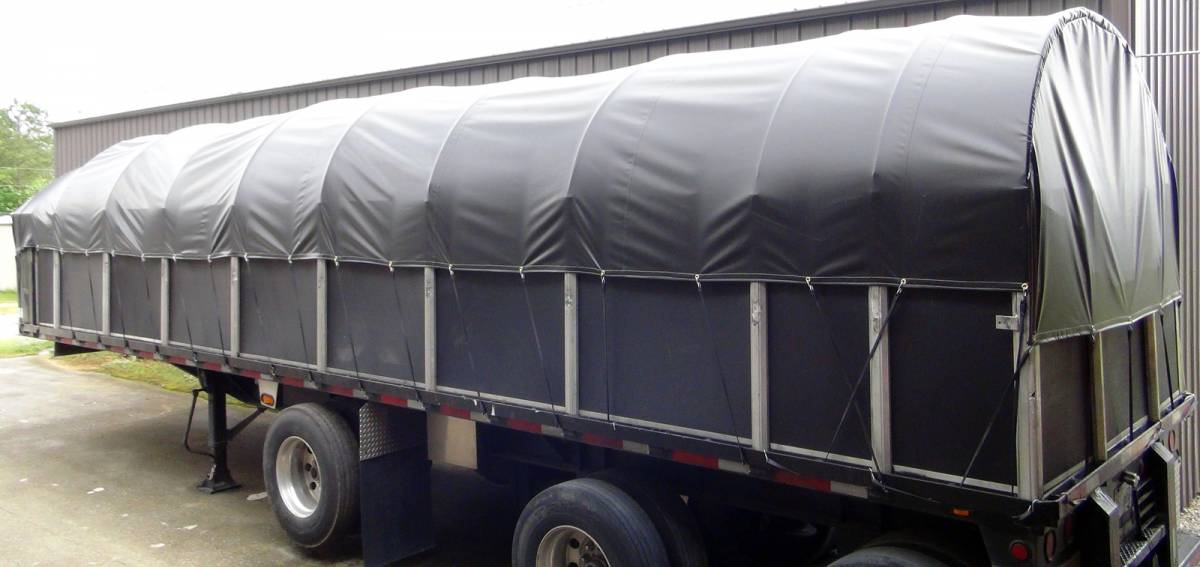 Covered Wagon Truck Tarp For 102 Quot Wide Flatbed Trailer