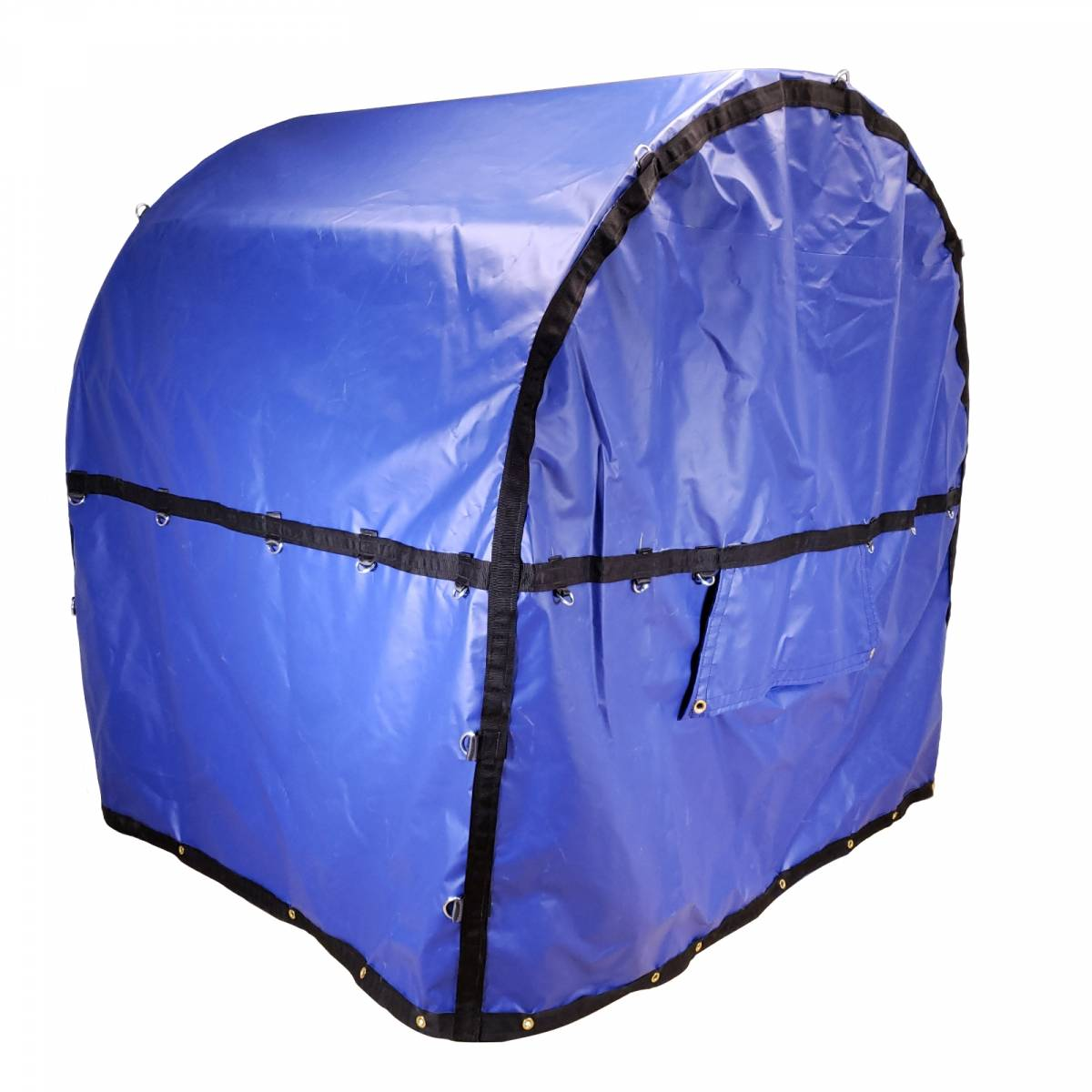 Coil Bag Truck Tarp With Chain Holes For Rolled Steel On