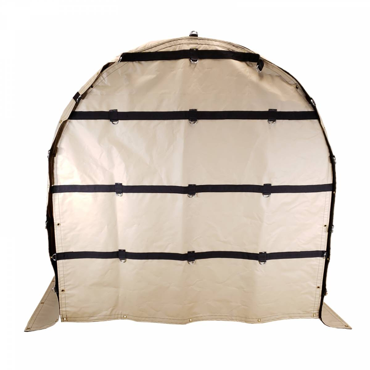 Flat Coil Bag Truck Tarp For Rolled Steel On Flatbed