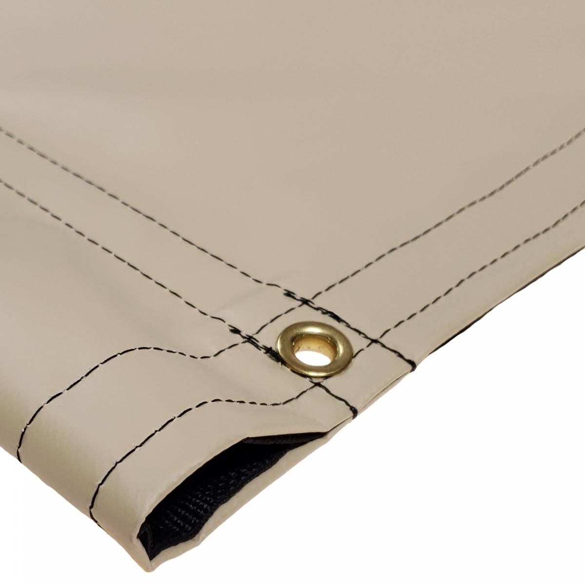 Custom Industrial Curtain Divider Tarp Cover 18oz F R