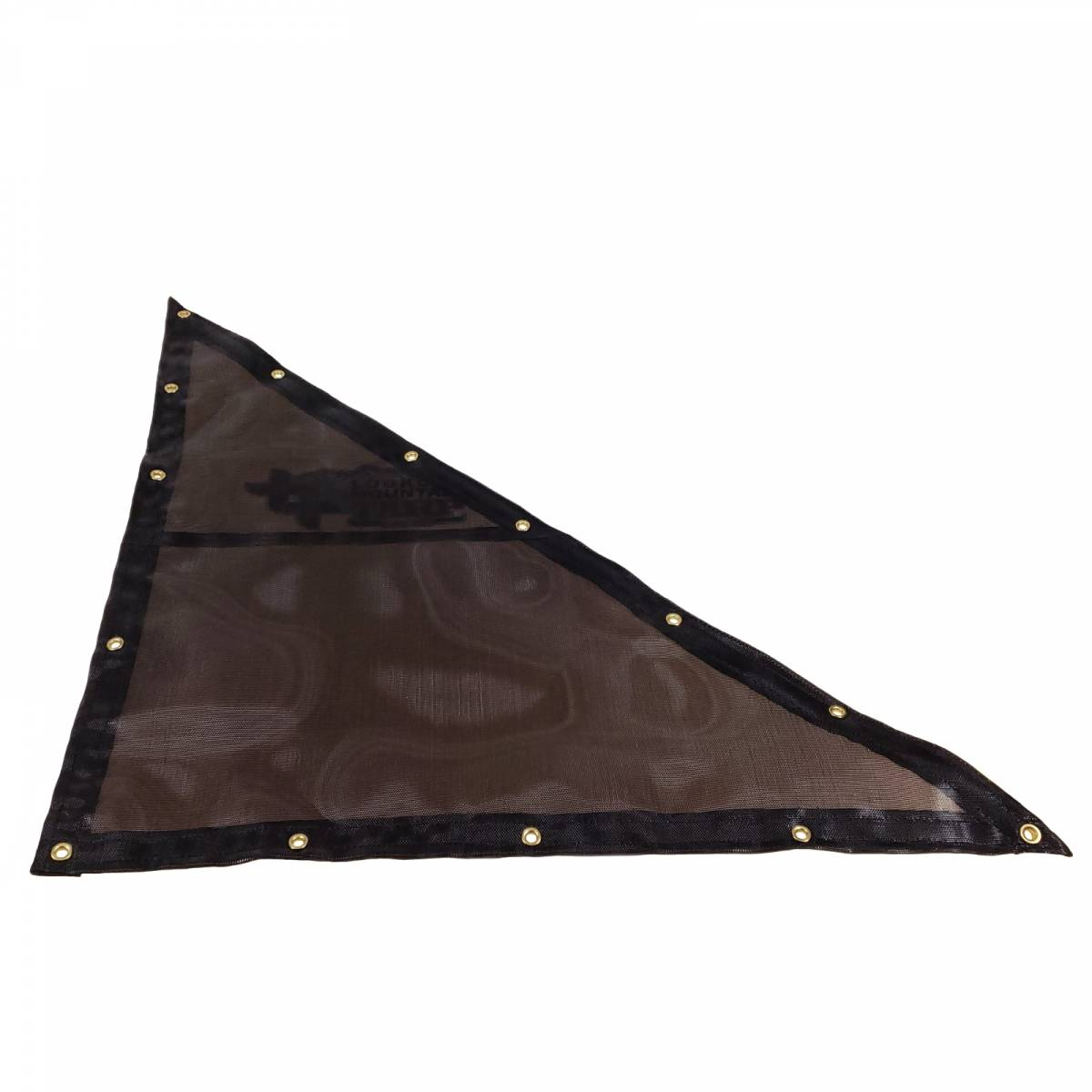 Custom Right Triangle Shaped Tarp Cover 7 5oz Closed