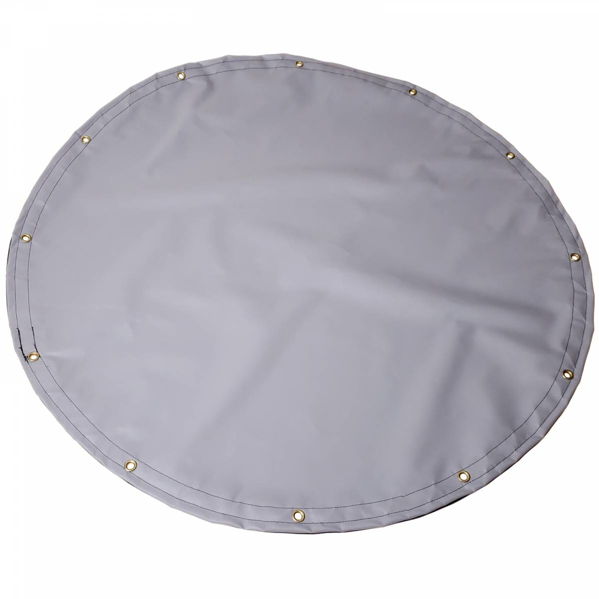 Custom Round Shaped Tarp Cover 22oz Solid Vinyl Coated