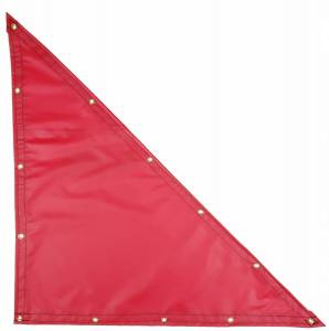 Lookout Mountain Tarp - Custom Right Triangle Shaped Tarp Cover - 18oz Solid Vinyl Coated Polyester