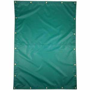 Lookout Mountain Tarp - Custom Rectangle Shaped Tarp Cover - 14oz Solid Vinyl Coated Polyester