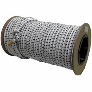 "Lookout Mountain Tarp - 3/8"" x 100' Roll of Nylon Coated Elastic Shock Cord / Bungee Cord"