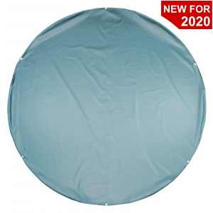 Lookout Mountain Tarp - Baseball Weighted Round Home Plate Tarp Cover - 18 Ounce Vinyl
