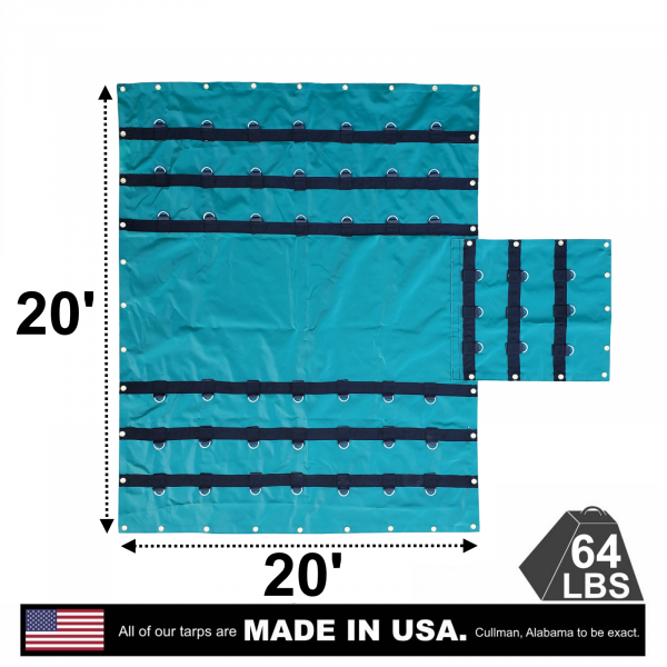 6-drop-flatbed-truck-vinyl-lumber-tarp-20-x-20-with-a-flap-made-in-the-usa-ad-view