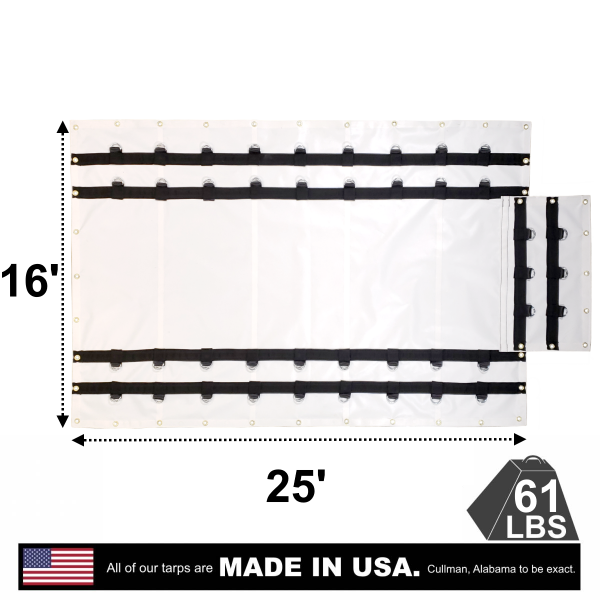 4-drop-flatbed-truck-vinyl-steel-tarp-16-x-25-with-flap-ad-white