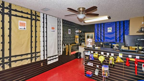 See inside our Truck Tarp Showroom