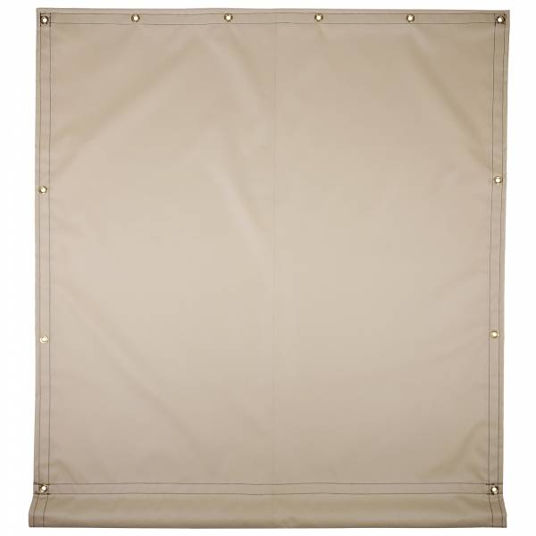 Custom Industrial Curtain Divider Tarp Cover - 22oz Solid Vinyl Coated Polyester