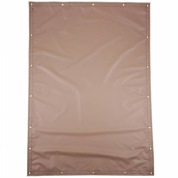 Custom Rectangle Shaped Tarp Cover - 13oz Solid Vinyl Laminated Polyester