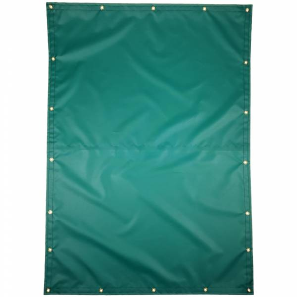 Custom Rectangle Shaped Tarp Cover - 14oz Solid Vinyl Coated Polyester