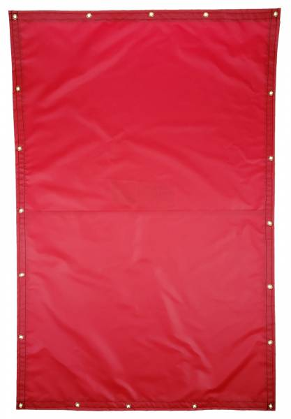 Custom Rectangle Shaped Tarp Cover - 18oz Solid Vinyl Coated Polyester