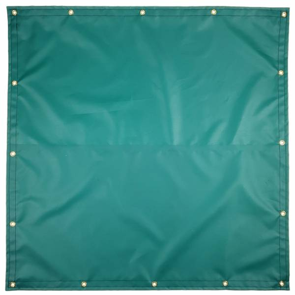 Custom Square Shaped Tarp Cover - 14oz Solid Vinyl Coated Polyester