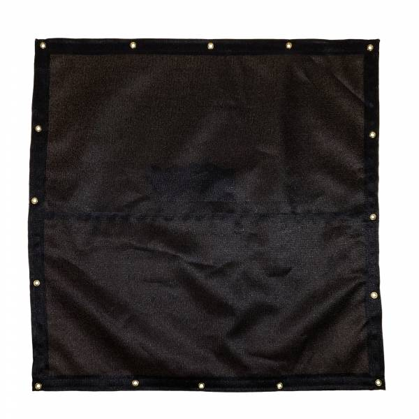 Custom Square Shaped Tarp Cover - 9.5oz Knitted Mesh 95% Solid