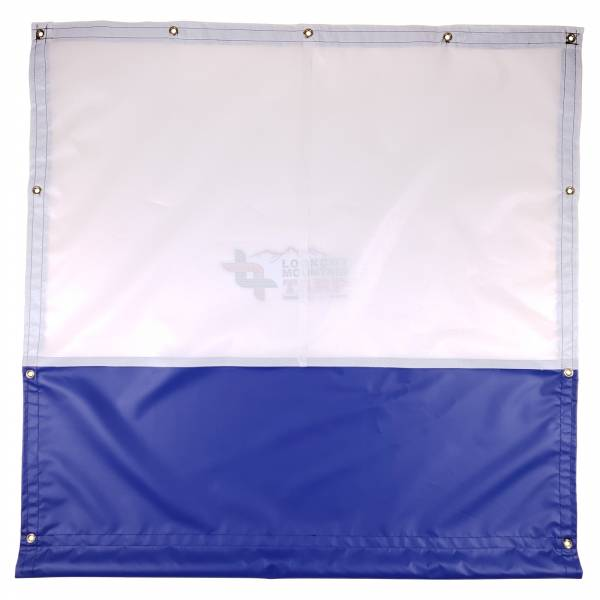 Custom Size Gym / Basketball Court Curtain Divider Tarp Mesh Top with Vinyl Bottom