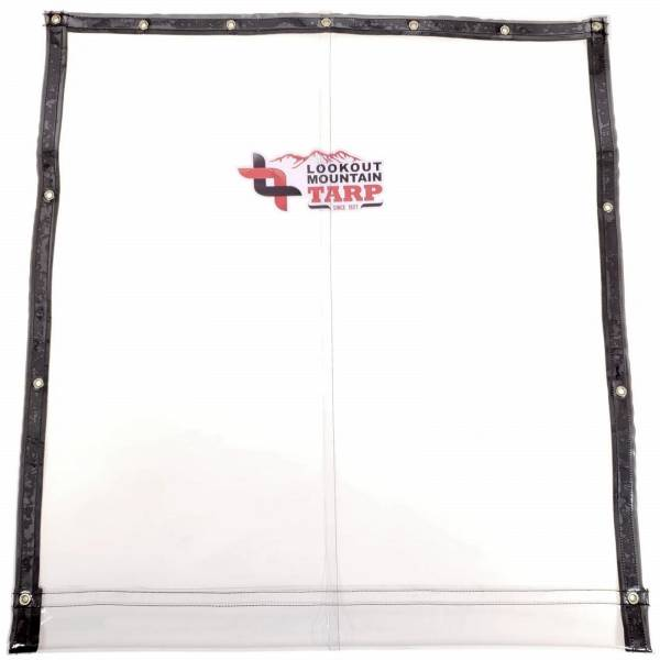 ic30-custom-industrial-curtain-divider-tarp-cover-30-gauge-clear-vinyl-top-view