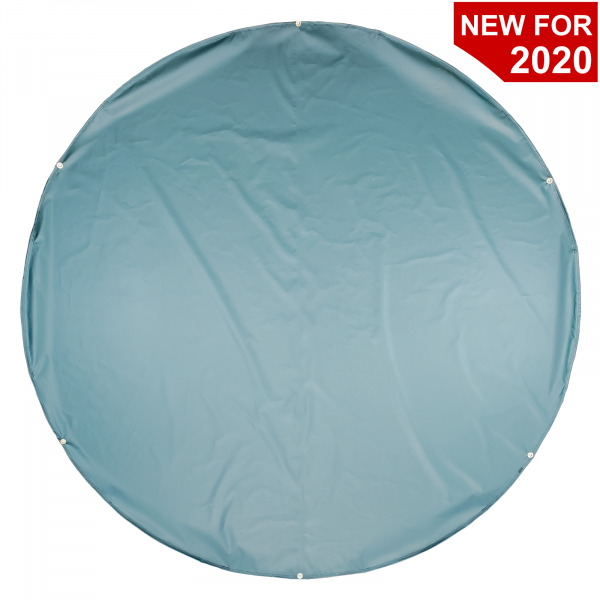 baseball-weighted-round-home-plate-tarp-cover-top-view