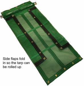 11oz-flip-tarp-vinyl-coated-open-mesh-flaps-fold-view