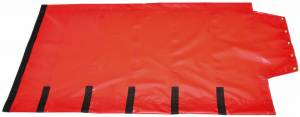 18oz-solid-vinyl-roll-tarp-with-flap-for-end-dump-trailer-side-view