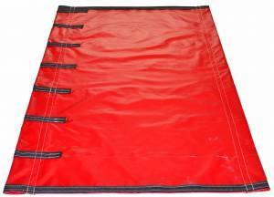 18oz-solid-vinyl-roll-tarp-for-bottom-belly-dump-trailer-end-view