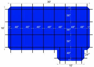 16-30-ratchet-lock-safety-cover-tarp-for-14-28-in-ground-rectangular-pool-left-step-blue