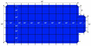 22-42-ratchet-lock-safety-cover-tarp-for-20-40-in-ground-rectangular-pool-center-step-blue