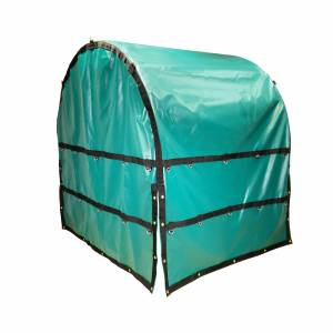 Coil-Bag-Truck-Tarp-with-Chain-Flaps-right-side