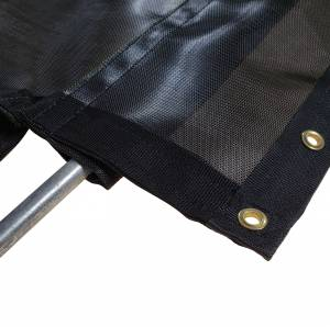 75oz-mesh-flip-tarp-with-flaps-for-dump-truck-bed-trailer-bottom-pocket-view