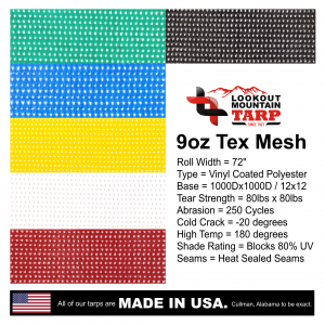 9oz-vinyl-coated-polyester-tex-mesh-colors