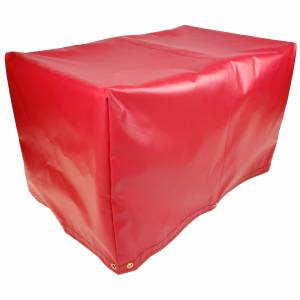 Custom 5-Sided Box Shaped Tarp Cover - 18oz Vinyl Coated Polyester