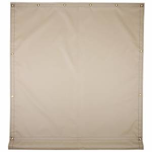 Custom Industrial Curtain Divider Tarp Cover - 18oz F/R Treated Vinyl Coated Polyester