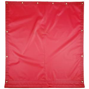 Custom Industrial Curtain Divider Tarp Cover - 18oz Solid Vinyl Coated Polyester