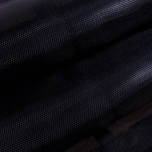 Custom Industrial Curtain Divider Tarp Cover - 7.5oz Closed Mesh 95% Solid Black