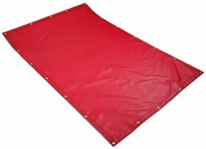 Custom Rectangle Shaped Tarp Cover - 18oz F/R Treated Vinyl Coated Polyester