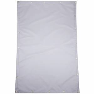 Custom Rectangle Shaped Tarp Cover - 22oz Solid Vinyl Coated Polyester