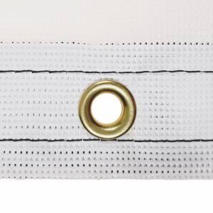 Custom Rectangle Shaped Tarp Cover - 9oz Vinyl Coated Mesh 80% Solid