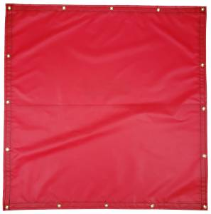 Custom Square Shaped Tarp Cover - 18oz Solid Vinyl Coated Polyester
