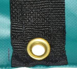 10 foot drop stepdeck tarp grommets